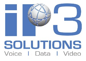 IP3 SOLUTIONS - VOICE DATA VIDEO, Logo
